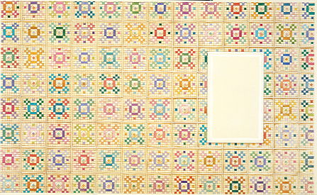 Copyright Lesley Ivory - Patchwork squares background