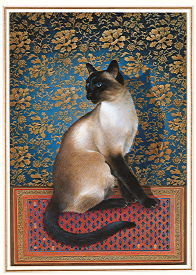 Copyright Lesley Ivory - Phuan on a Chinese carpet