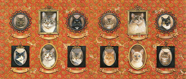 Copyright Lesley Ivory - Ivory cats portrait gallery